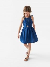 سارافون جینز دخترانه 24615 سایز 4 تا 12 سال مارک ZARA