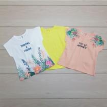 تی شرت دخترانه 24666 سایز 6 ماه تا 4 سال مارک ZARA