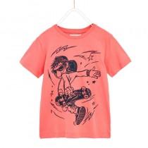 تی شرت پسرانه 24512 سایز 6 تا 10 سال مارک ZARA