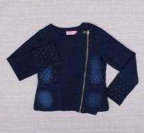 ژاکت جینز دخترانه 10815 سایز 3 تا 8 سال مارک OVS