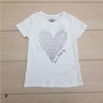 تی شرت دخترانه 24685 سایز 2 تا 12 سال مارک PEPPERTS