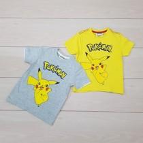 تی شرت پسرانه 11976 سایز 2 تا 8 سال مارک POKEMON