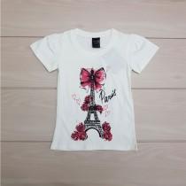 تی شرت دخترانه 24773 سایز 2 تا 12 سال مارک LEPEARL