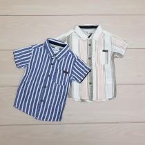 پیراهن پسرانه 24750 سایز 9 ماه تا 6 سال مارک LC WALKIKI