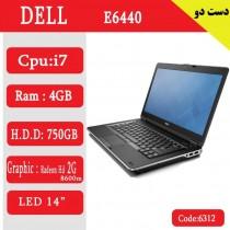 لپ تاپ استوک DELL E6440 کد 17937