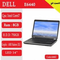 لپ تاپ استوک Dell E6440 کد 17938