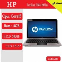 لپ تاپ استوک HP Pavilion DM4-2070us کد 17941