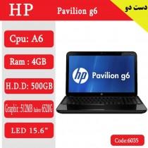 لپ تاپ استوک HP Pavilion g6 کد 17942