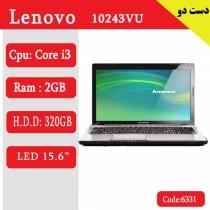 لپ تاپ استوک Lenovo 10243VU کد 17944