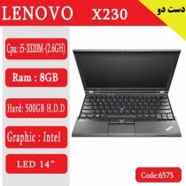 لپ تاپ استوک Lenovo x230 کد 17946