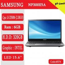 لپ تاپ استوک samsung np300e5a کد 17948