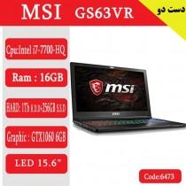 لپ تاپ ام اس ای Gs63vr کد 17952