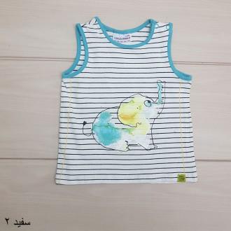 تی شرت پسرانه 24925 سایز 3 تا 18 ماه مارک CDRL