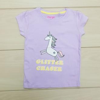 تی شرت دخترانه 24928 سایز 1 تا 6 سال مارک MANGO