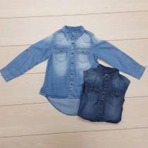پیراهن جینز 25294 سایز 5 تا 16 سال مارک NEXT