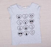 تی شرت دخترانه 10830 سایز 8 تا 14 سال مارک H&M