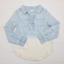شومیز جینز دخترانه 25644 سایز 7 تا 16 سال مارک MUDD