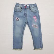 شلوار جینز دخترانه 25945 سایز 3 تا 30 ماه مارک PIAZA ITALIA