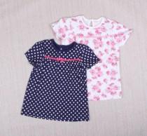 تی شرت دخترانه 10640 سایز بدوتولد تا 24 ماه مارک GEORGE