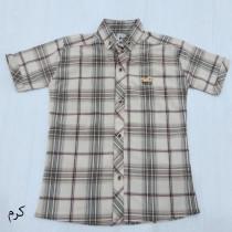 پیراهن چهارخانه پسرانه 6001072 مارک POP سایز 3 تا 8 سال