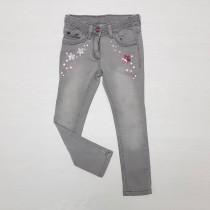 شلوار جینز دخترانه 26576 سایز 3 تا 8 سال مارک TOPO LINO