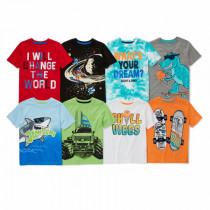 تی شرت پسرانه 26643 سایز 4 تا 8 سال مارک GARANIMALS
