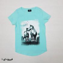 تی شرت دخترانه 26647 سایز 8 تا 14 سال مارک PAGE