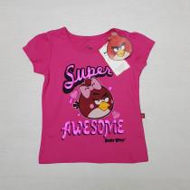تی شرت دخترانه 26668 سایز 2 تا 7 سال مارک Angiry Birds