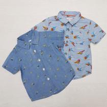 پیراهن پسرانه 26702 سایز 9 ماه تا 5 سال مارک CAT&JACK