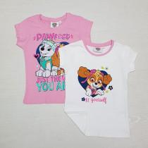 تی شرت دخترانه 26873 سایز 3 تا 8 سال مارک NICKELODEON