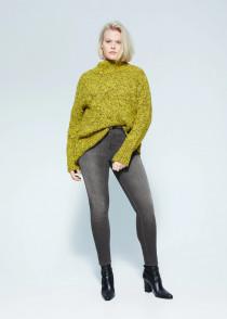 شلوار جینز زنانه 26851 سایز 42 تا 52 مارک MANGO