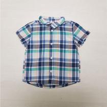 پیراهن پسرانه 27203 سایز 9 ماه تا 3 سال مارک H&M