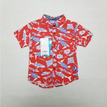 پیراهن پسرانه 27418 سایز 12 ماه تا 7 سال مارک LC WALKIKI
