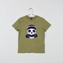 تی شرت پسرانه 27465 سایز 5 تا 12 سال مارک KIABI