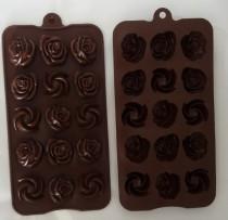 قالب شکلات سیلیکونی گل رز کد220323