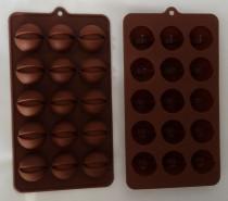قالب شکلات سیلیکونی طرح پسته کد220328