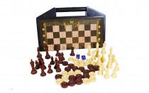 بازی رومیزی شطرنج و تخته نرد بردیا آماندا 6001336