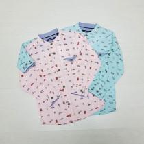 پیراهن پسرانه 27630 سایز 2 تا 14 سال مارک KIABI