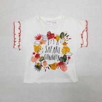 تی شرت دخترانه 27644 سایز 9 ماه تا 6 سال مارک MINOTI
