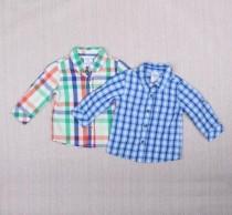 پیراهن پسرانه 18900 سایز بدوتولد تا 12 ماه مارک little wonder