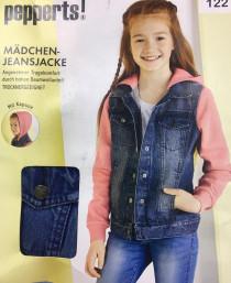 کت جینز دخترانه 25328 سایز 18 ماه تا 13 سال مارک LUPILU PEPPERTS   *