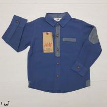 پیراهن پسرانه 25619 سایز 1.5 تا 8 سال مارک H&M   *