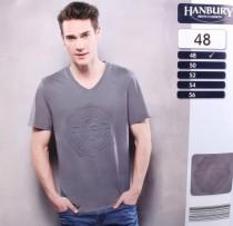 تی شرت مردانه 18905 سایز 48 تا 56 مارک HANBURY