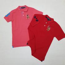 تی شرت پسرانه 27234 سایز 4 تا 18 سال مارک POLO   *