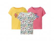 تی شرت دخترانه 27799 سایز 18 ماه تا 6 سال مارک LUPILU