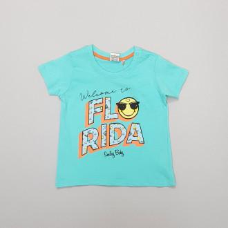تی شرت پسرانه 27797 سایز 3 تا 36 ماه مارک SMILEY