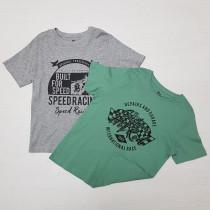 تی شرت پسرانه 26842 سایز 7 تا 12 سال مارک PEPPERTS   *