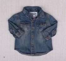 پیراهن جینز 18854 سایز 3 ماه تا 4 سال مارک NEXT
