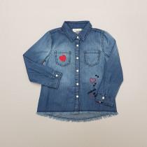بلوز جینز دخترانه 27883 سایز 3 تا 10 سال مارک OVS