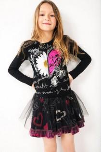 سارافون دخترانه 26050 سایز 3 تا 13 سال مارک Desigual   *